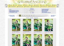 Amour Angelsの画像作品ページのスクリーンショット