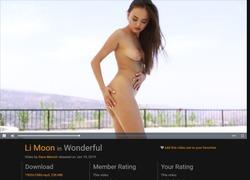FEMJOYの動画作品ページのスクリーンショット