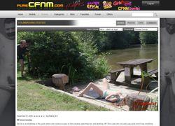 Pure CFNMの動画作品ページのスクリーンショット