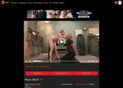 Men In Painの動画作品ページのスクリーンショット