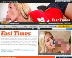 Fast Timesのメインページ