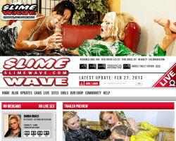 Slime Waveのメインページ