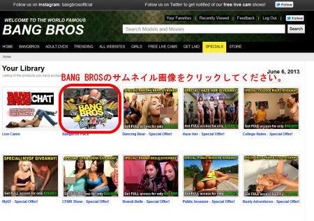 「Bangbros Network」の広告ページ2