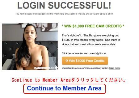Bangbros Networkの広告ページ