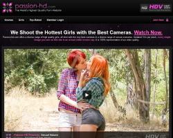 Passion HDのメインページ