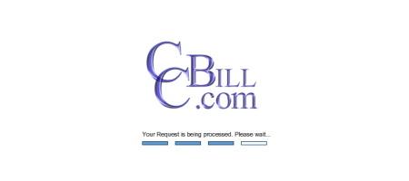 CCBILLのウェイト画面