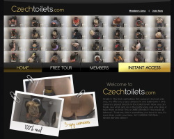 Czech Toiletsのメインページ