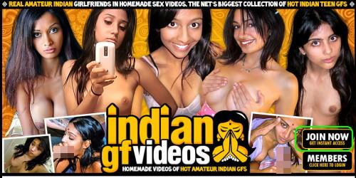Indian GF Videosのメインページ