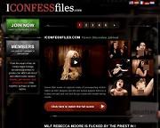 I confess filesのバナー