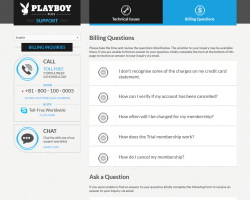 Playboy PlusのVIP会員の退会方法