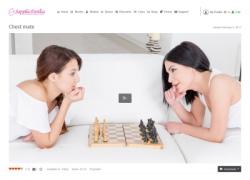 Sapphic Eroticaの画像作品ページのスクリーンショット