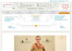 Showy Beautyの動画作品ページのスクリーンショット