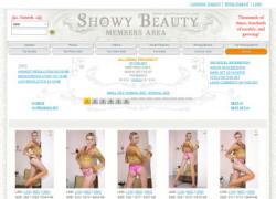 Showy Beautyの画像作品ページのスクリーンショット