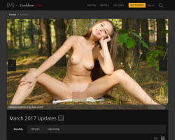 Goddess Nudesの登録方法