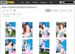 HD Massage Pornの画像作品ページのスクリーンショット