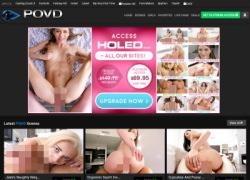 POVDの会員ページのスクリーンショット