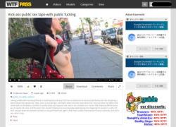 Private Sex Tapesの動画作品ページのスクリーンショット