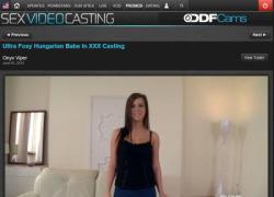 Sex Video Castingの作品ページのスクリーンショット