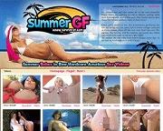 Summer GFのメインページのキャプチャー画像
