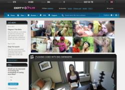 Dirty Flixの画像作品ページのスクリーンショット