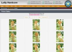 Lolly Hardcoreの画像作品ページのスクリーンショット