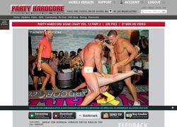 Party Hardcoreの動画作品ページのスクリーンショット