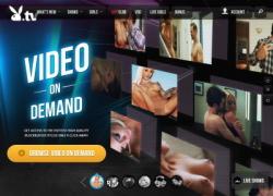 Playboy TVの会員ページのスクリーンショット