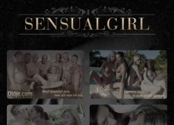 Sensual Girlの会員ページのスクリーンショット