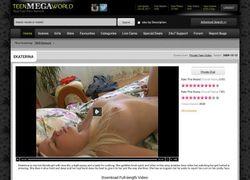 Private Teen Videoの動画作品ページのスクリーンショット
