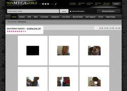 Private Teen Videoの画像作品ページのスクリーンショット