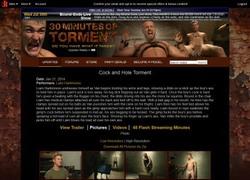 30 Minutes of Tormentの画像作品ページのスクリーンショット