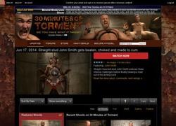 30 Minutes of Tormentの会員ページのスクリーンショット