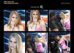 Blacks On Blondesの画像作品ページのスクリーンショット