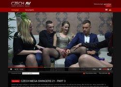 Czech AVの作品ページのスクリーンショット