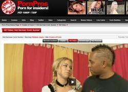 Freaks Of Cockの動画作品ページのスクリーンショット