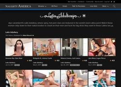 Latin Adulteryの会員ページのスクリーンショット