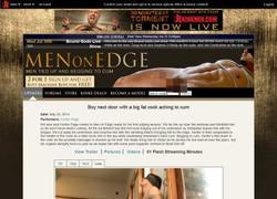 Men on Edgeの動画作品ページのスクリーンショット