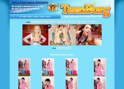 Teenburgの画像作品ページのスクリーンショット