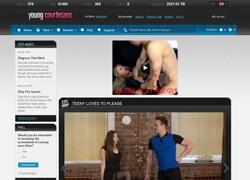 Young Courtesansの画像作品ページのスクリーンショット