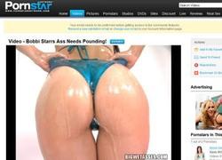 Big Wet Assesの動画作品ページのスクリーンショット