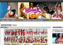 Black GFsの画像作品ページのスクリーンショット