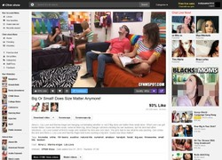 CFNM Showの動画作品ページのスクリーンショット