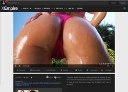 Hard Xの動画作品ページのスクリーンショット
