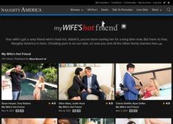 My Wife's Hot Friendの会員ページのスクリーンショット