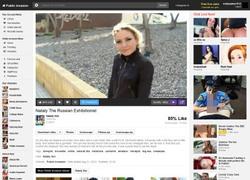 Public Invasionの動画作品ページのスクリーンショット