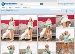 Abby Wintersの画像作品ページのスクリーンショット