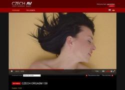 Czech Orgasmの作品ページのスクリーンショット