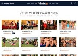 Mad Sex Partyの会員ページのスクリーンショット