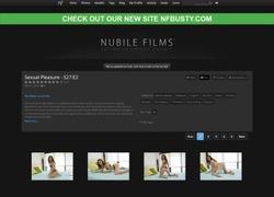 Nubile Filmの画像作品ページのスクリーンショット