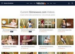 Slime Waveの会員ページのスクリーンショット